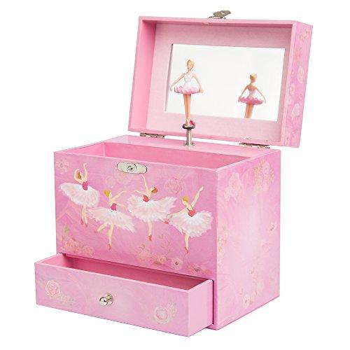 Ballerina Music Box for Girls - Dancing Musical Jewelry Box