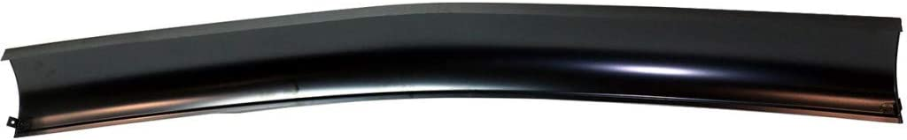 For Chevy C10 Pickup // C10 Suburban Roll Pan 1967-1972 w//o License Plate Part Steel DOT//SAE Compliance Front