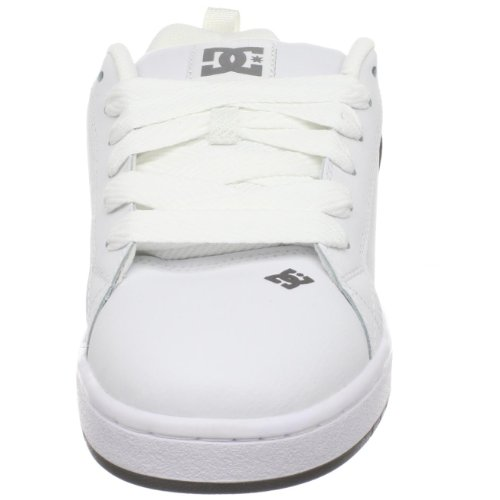 Court DC Men's White Graffik Skate Shoe White Battleship fw5xrwqH