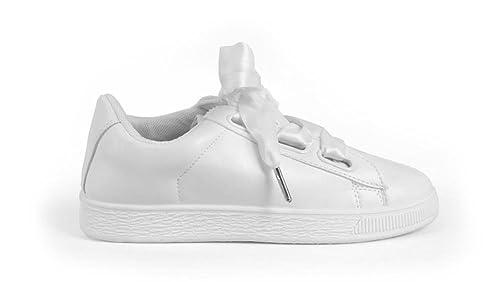 Bosanova Zapatillas Bajas Deportivas con Cordones de Raso para Mujer: Amazon.es: Zapatos y complementos