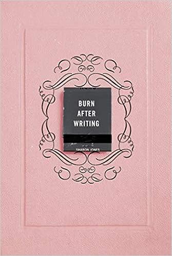 Télécharger Burn After Writing (Pink) pdf gratuits