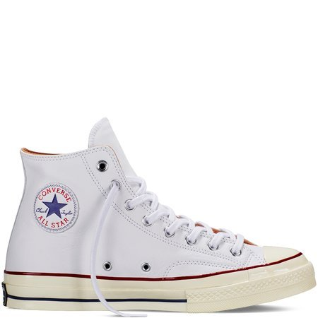 Converse Chuck Taylor 1970s Leather Hi Top Sneakers White (12 M US)