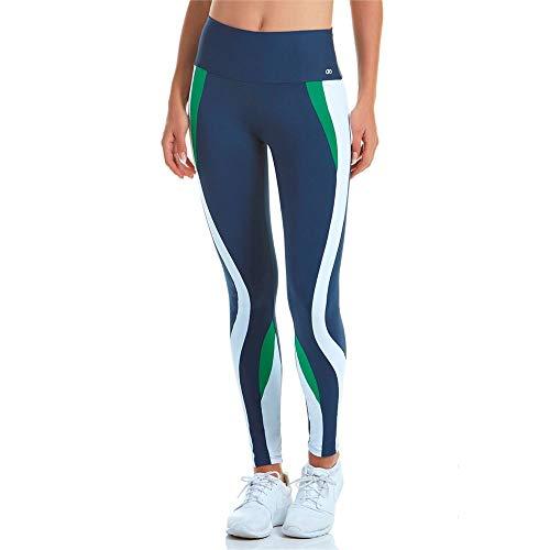 Calça Legging Alto Giro Way Azul Marinho M
