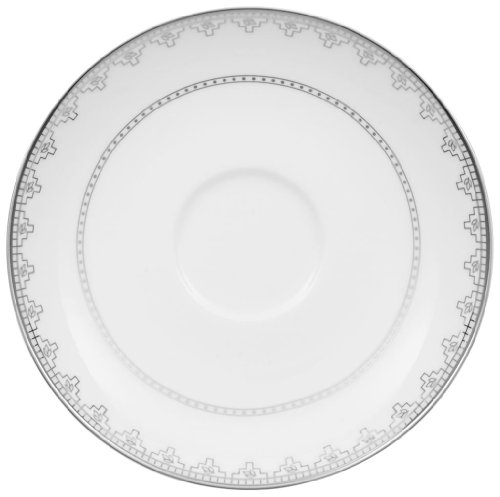 Villeroy & Boch White Lace 6-Inch Teacup Saucer ()
