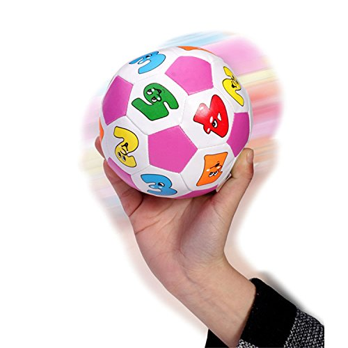 Sport Toys Football & Beach Ball Educational Very Fun Math Toysh Lovely Cartoon Number Pattern Baby Kids Pool