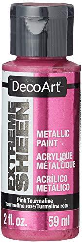 DecoArt 2 Ounce, Pink Tourmaline Extreme Sheen Paint, from DecoArt