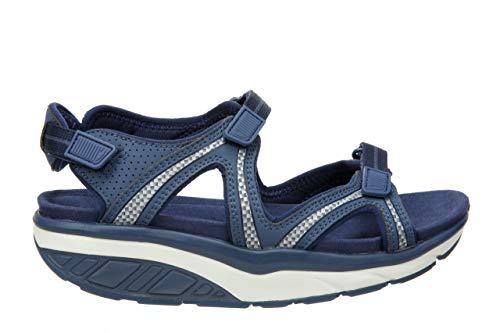 MBT USA Inc Women's Lila 6 Sport Indigo Blue Outdoor Sandals 700667-1193L Size 8-8.5