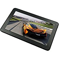 10inch Zeepad 10XR-Q Google Android 5.1 Quad Core Rockchip 8GB Flash, 1GB RAM 1024600 Multi-Touch Screen Bluetooth & WiFi Dual Camera Tablet PC (Black)