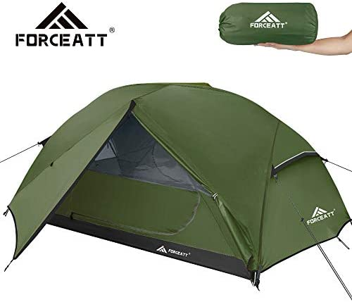 Forceatt Tent 2-3 Person Camping Tent, Waterproof and Windproof 3-4 Seasons Ultralight Backpack Tent, can be Installed Immediately, Suitable for Hiking, Camping, Outdoor