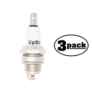 3-Pack Compatible Spark Plug for DOLMAR Saw PC7430 - Compatible Champion RCJ7Y & NGK BPMR6F Spark Plugs