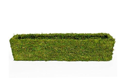 Super Moss (29365) MossWeave Window Box Planter, Fresh Green, 36