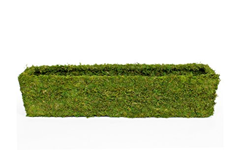 Super Moss 29365 MossWeave Window Box Planter, Fresh Green, 36