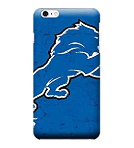 iPhone 6 Cases, NFL - Detroit Lions Distressed - iPhone 6 Cases - High Quality PC Case