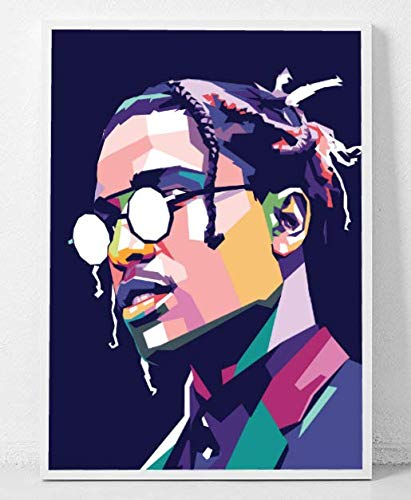 fcc90ed4206e Amazon.com: ASAP Rocky Limited Poster Artwork - Professional Wall ...