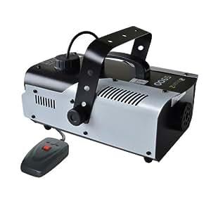 Máquina de humo y niebla Beamz S900 70m³ 800W control remoto