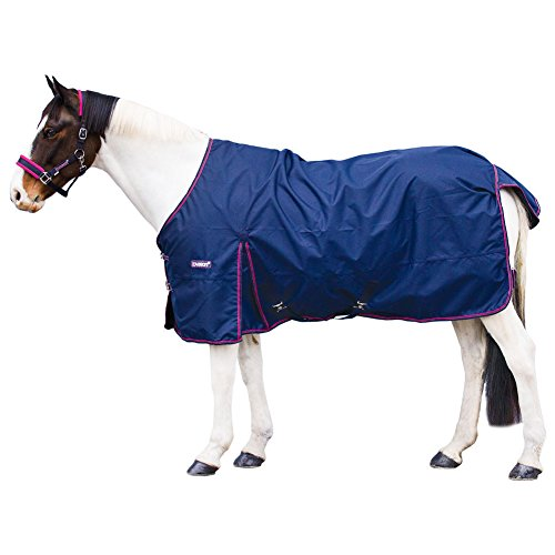 Loveson Turnout Sheet 0g Navy/Pink/Navy/Silver 66 (Pony Sheet Turnout)