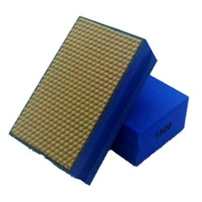 SODIAL(R) 1500 Grit Diamond Hand Polishing pads