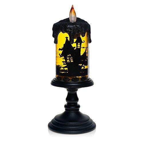 Bat Tornado LED Lighting Flameless Candle, Christmas Battery