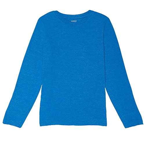 Diver Kids T-shirt (French Toast Little Boys' Long Sleeve Crew Neck Tee, Skydiver Heather, 6)
