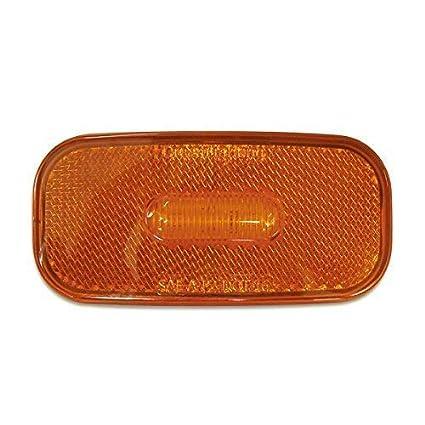 Dream Lighting 12V Oblong Waterproof LED Side Marker Light Red Lighting Car//Truck//Caravan Clearance identification Lamp