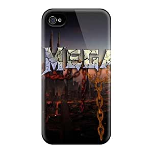 Durable Case For The Iphone 4/4s- Eco-friendly Retail Packaging(megadeth Band)