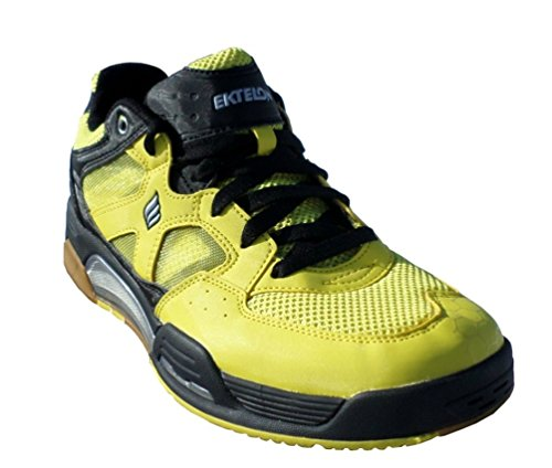 Ektelon NFS Attack Low Racquetball Shoe (8.5, Yellow/Black)