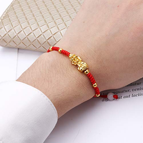 puhoon Chinese Feng Shui Bracelet, Pi Xiu Kabbalah, Red String Lucky Protection (C) by puhoon (Image #5)