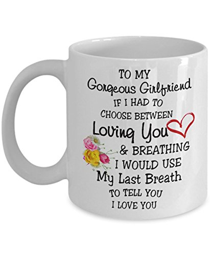 riend, I Love You - Coffee Ceramic Mug, Tea Cup, Gift for Girlfriend, Funny Merry Christmas, Friend, Wife, Wedding, Heart, She, Women, Engagement (Forever Yours Mug)