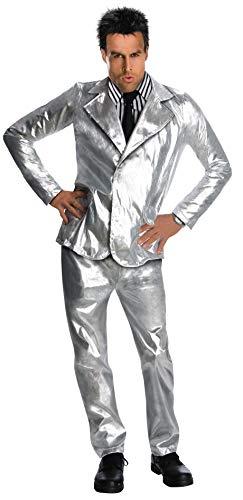 (Zoolander Costume, Silver,)