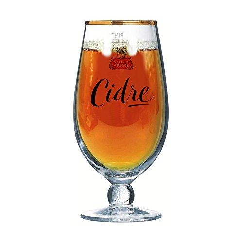 nt Cidre/Chalice Glass/Glasses/Barware CE 20oz/568ml (Stella Artois Cidre) (Lager Beer Brands)
