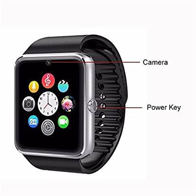 Taken wireless watch Bluetooth Smart Wrist Wrap Watch Phone with Entertainment MP3MP4, Bluetooth music playing for Smartphones Android Nexus,Samsung Galaxy S6,S5,S4,S3,Note 4,Note 3,Android.HTC M8,M7,Lg G3,G2,huawei,Smartphone All Bluetooth Enabled Device