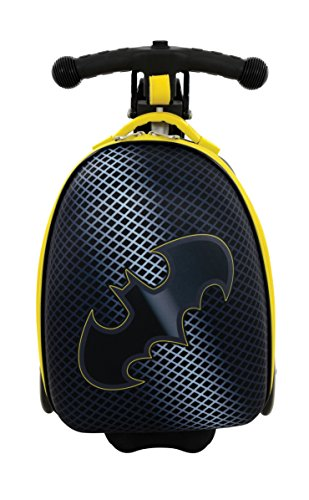 Batman Scootcase 3-in-1 Scooter With Luggage Suitcase MV Sports Ages 3 ()