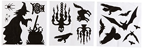 Halloween Silhouette DEcor (Black Silhouette Halloween)