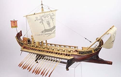 Barco Galera Romana ROMAN WARSHIP Modelismo Hecho a mano ...