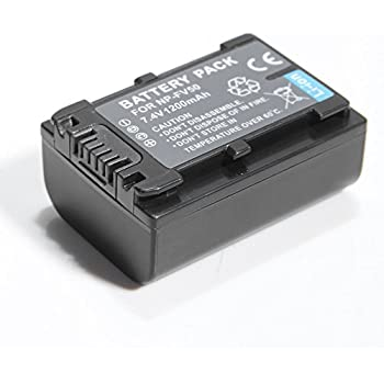 ATC NEW Replacement Battery for Sony NP-FV30, NP-FV50, NP-FV70, NP-FV100, NP-FH30, NP-FH50, NP-FH60, NP-FH70, NP-FH100, NP-FP50, NP-FP70, NP-FP71, NP-FP90