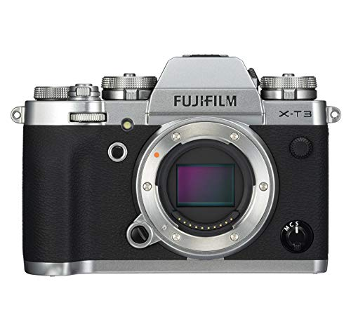 Fujifilm X-T3 Mirrorless Digital Camera (Body Only) - Silver (Renewed)