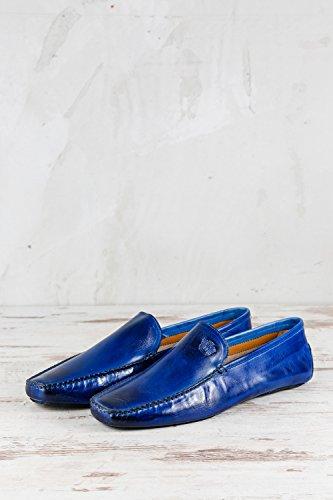 Melvin & Hamilton MH15-1254, Pantofole Uomo Blu Blu