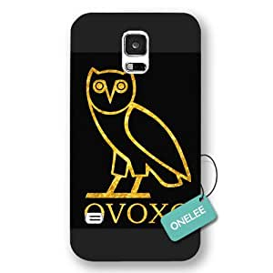 Onelee(TM) - Ovoxo Owl Samsung Galaxy S5 Case & Cover - Black Forsted 3