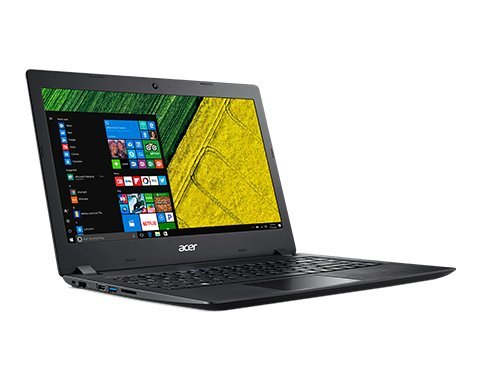 "ACER Aspire 5 15.6"" FHD ComfyView LED Backlight Laptop, Intel Core i3-7100U 2.4GHz, 8GB DDR4 RAM, 128GB SSD Boot + 1TB HDD, HDMI, USB-C 3.1, Windows 10, Black (Black)"