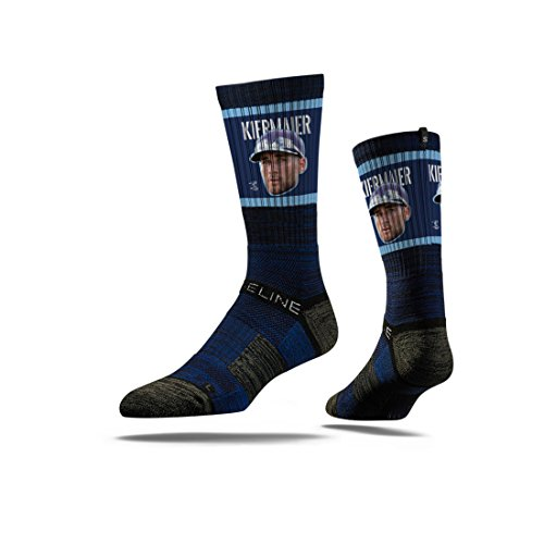 Strideline MLB PA Tampa Bay Rays Kevin Kiermaier Premium Crew Socks, Orange, One Size (Rays Bed Bay Tampa)