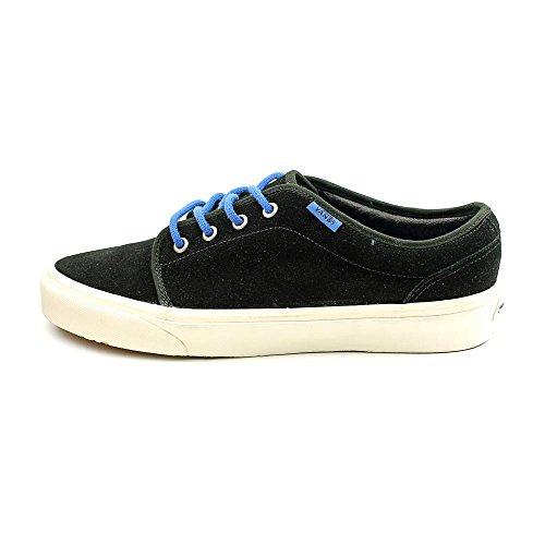 Vans - Zapatillas para hombre Black White Suede