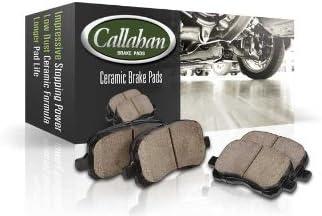 Callahan CCK04277 Clips FRONT Premium SemiLoaded Original Brake Caliper Pair for Acura Legend RL TL Honda Accord 2