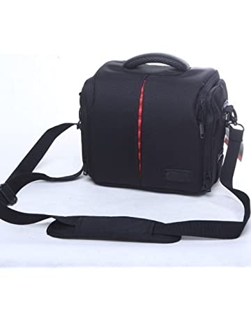 Waterproof Anti-shock DSLR SLR Camera Case Bag with Extra Rain Cover for  Canon EOS 96b0acdeda42b