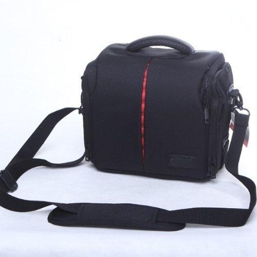 Waterproof Anti-shock DSLR SLR Camera Case Bag with Extra Rain Cover for Canon EOS 1300D,1200D,2000D, 4000D,100D 200D, 750D 800D,Panasonic LUMIX DMC FZ82 FZ72 FZ330,GF-5,GF-6 Bridge Cameras