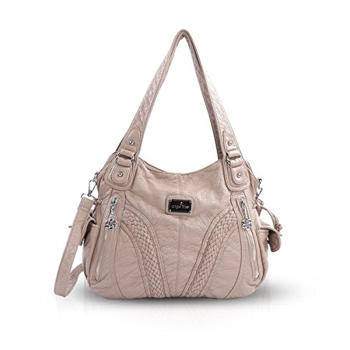 NICOLE Casual Crossbody DORIS Shoulder amp; 1 Beige Hobo Bag Woman Handbag r78raBq