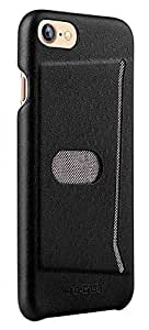 Apple iPhone 7 G-Case Jazz Series With Card Slot PC Back Case Cover - Black