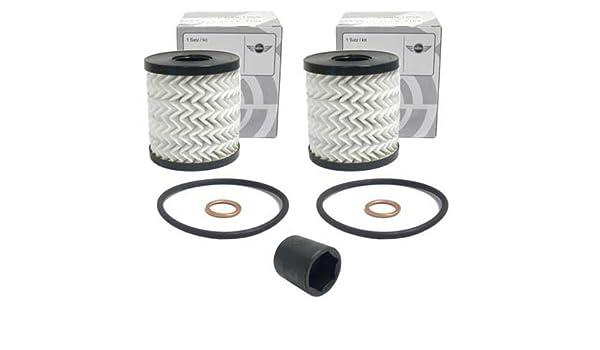 Cooper SD R60 Bosch Engine Oil Filter Fits Mini Mini Countryman