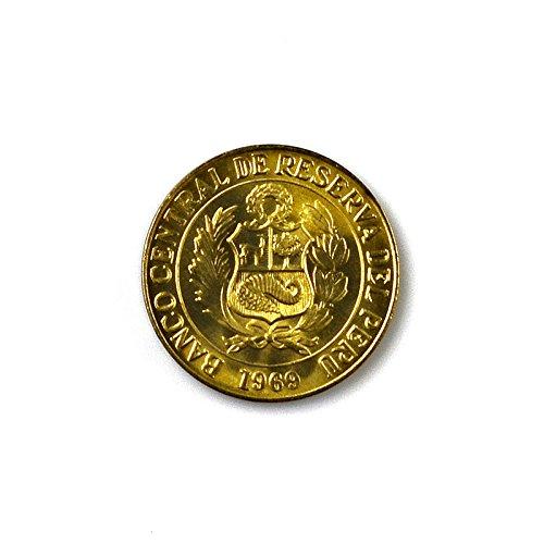 Quality Handcrafts Guaranteed Peru Coin Lapel Pin
