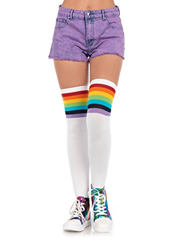 Leg Avenue Womens Rainbow Stockings product image