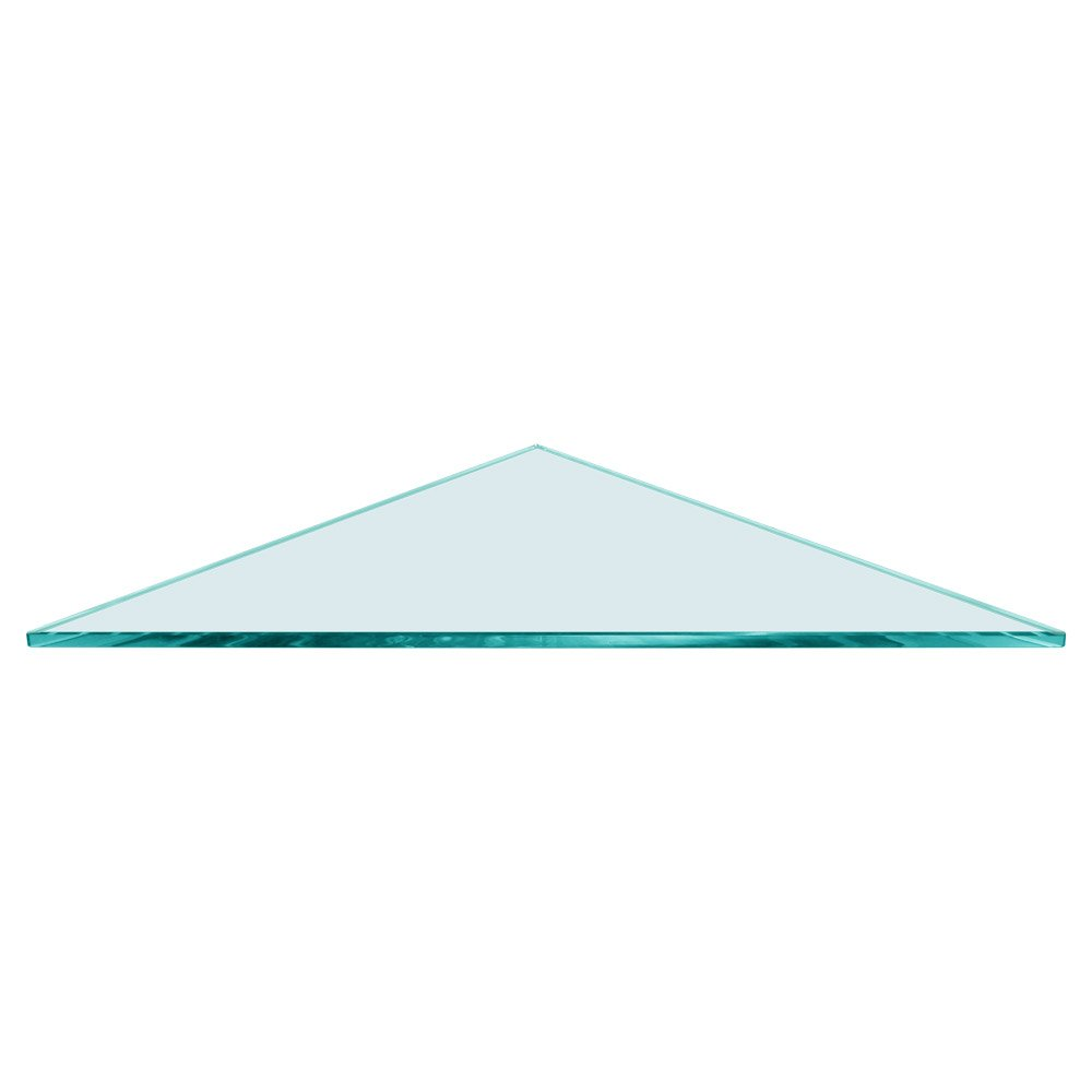 Triangle Glass Shelf 16 x 16